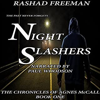 Night Slashers audiobook cover art