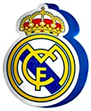 Real Madrid Cojin 3D Escudo, Multicolor, 40 x 40 cm