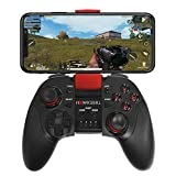 Hawksbill Wireless Gamepad Controller for iOS iPhone & Android - Bluetooth with L3 + R3 Buttons, Long Battery Life, Improved 8 Way D-Pad, Sleek Design, MFI Compatible Games