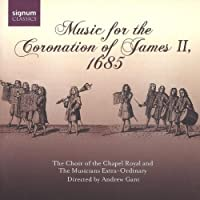 Music at the Coronation of James II 1685 by CHILD / PURCELL / TALLIS / TURNER (2007-03-27)