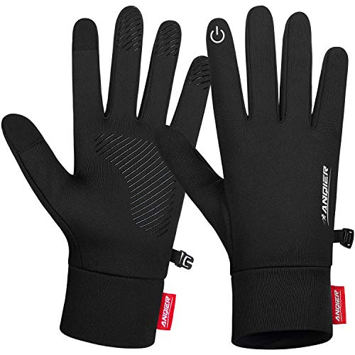 SYOSIN Winter Touch Screen Gloves Anti-slip Warm Knitted Gloves Working Outdoor Running Biking Driving for Men and Women