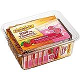 Emergen-C Vitamin C 1000mg Powder (50 Count, Raspberry Flavor), with Folic Acid, Antioxidants, B Vitamins and Electrolytes, Dietary Supplement Fizzy Drink Mix, Caffeine Free
