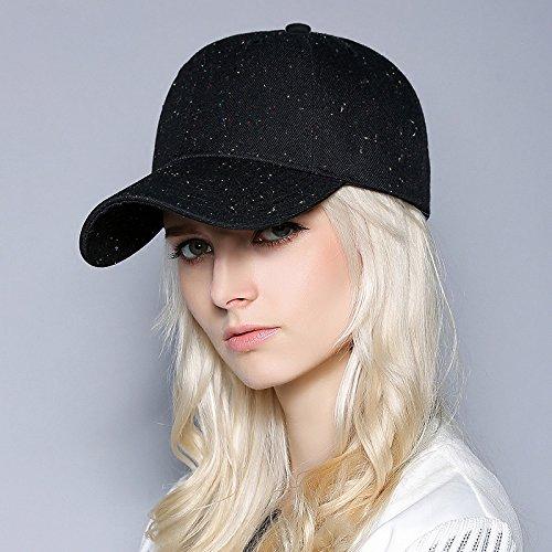 FQG * kinderen herfst winter mutsen CSMS baseball cap-markiezen trendy heren cap, zwart