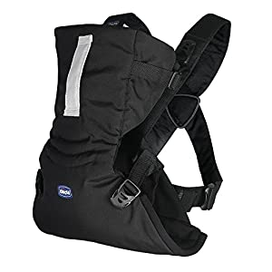 Chicco Easy Fit – Chicco Easy Fit – Mochila Ergonómica Portabebé, De 0 A 9 Kg, Color Negro (Black Night)
