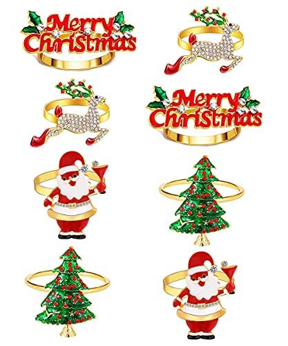 8 PCs Christmas Fall Winter Holiday