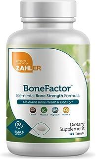 Zahler Bonefactor, Bone Strength Supplement containing Calcium, Vitamin D, Vitamin K and Magnesium, Certified Kosher, 120 ...