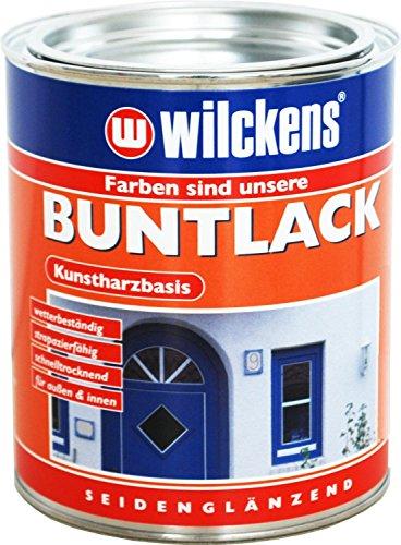 Wilckens 750 ml Buntlack Anthrazitgrau RAL 7016 Seidenglänzend, Kunstharzbasis, Innen & Außen
