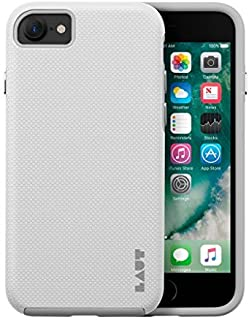 LAUT - Shield Double Layer Protective Hard Back Case for iPhone 8 & iPhone 7 (White)
