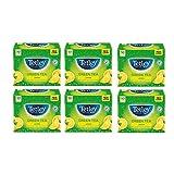 Tetley Green Tea Lemon Tea Bags, Pack of 6, 50-Cout