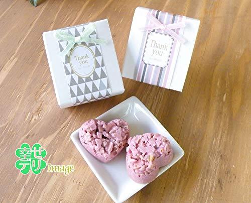 ハート型ストロベリークランチチョコ2粒入りプチギフト1個ルーチェ【結婚式 プチギフト チョコレート バレンタインデー ホワイトデー】