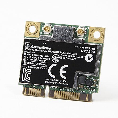 724935 001 HP Broadcom 4352 802 11ac Wi Fi Bluetooth 4 0 WLAN Adapter 5G WiFi 2 Stream 867 Mbps product image