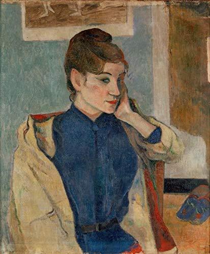 Art-Galerie Digitaldruck/Poster Paul Gauguin - Madeleine Bernard - 50 x 60.5cm -...