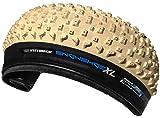 Vee Tire 26x4.8 Snow Shoe XL Fat Tires Folding Bead White Pure Silica Compound