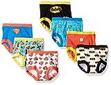 DC Comics Boys Toddler Superman, Batman and More Training Pants, Justice League, 4T, 7-Pack