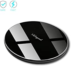 Fast Wireless Charger, Melegend Compatible Android 10W Fast Wireless Charging Pad for Samsung Galaxy S10 S9 S9 S8 S8 S7 Note 8 Note 5, Cordless Charger for IPhone 11 Pro X XR 8 Plus