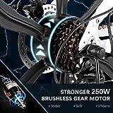 Zoom IMG-2 vivi bicicletta elettrica pieghevole 26