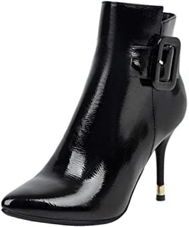AbbyAnne Women Sexy Evening Party Boots Stiletto Heels