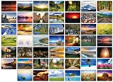 48 Glossy Blank Landscape Greeti...