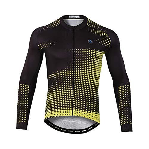 GRTE Maillots de Ciclismo para Hombre, diseños Personalizados para Montar en Bicicleta...