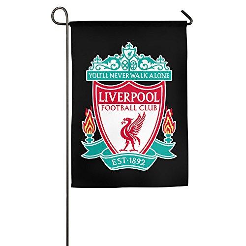 KI3SOP Liverpool F.C Logo Home Garden Flags Sports Fan Outdoor Flags
