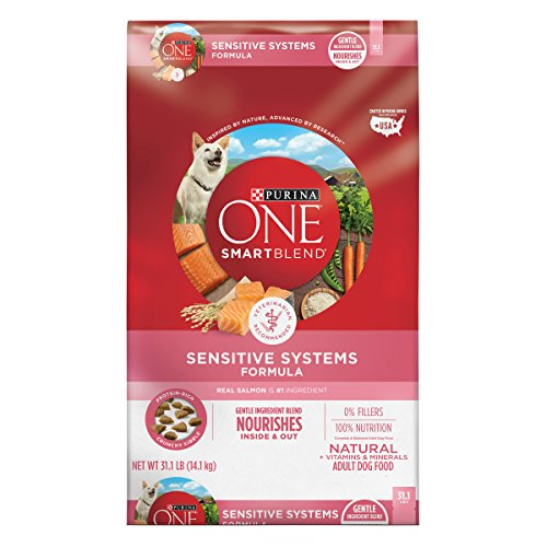 Purina ONE Natural Sensitive Stomach Dry Dog Food, SmartBlend...
