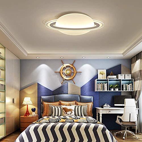 ZZOOK Plafondlamp LED Planeet Ontwerp ronde hal Moderne globe decoraties Schattig Leuk poppenhuis Astronaut Garderie lamp