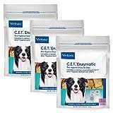C.E.T. Enzymatic Oral Chews-Dogs 26-50lbs 30Ct 3PK