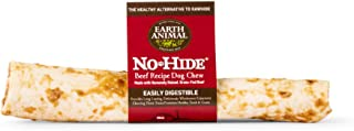 Earth Animal No-Hide Grass-Fed Beef Large Natural Rawhide Alternative Dog Chew, 1 Count