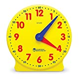 Learning Resources- Reloj para los Alumnos Big Time Student Learning Clock, Color (LER2095) , color/modelo surtido