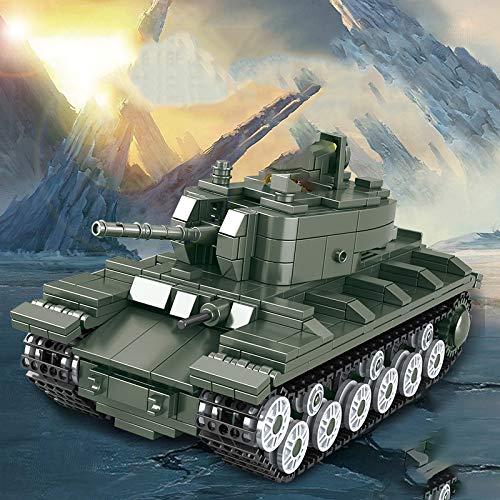 DSHHF Military Tank Sets Ww2 T34 Model Building Blocks Bricks Kits Army World War 2 1 I Ii Panzer Vehicle Technic Armored