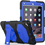 Case for iPad 9.7 inch 2018/2017, SEYMAC Three Layer Heavy