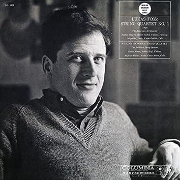 Williams Bergsma: Third String Quartet No. 1 - Lukas Foss: String Quartet No. 1 (Remastered)
