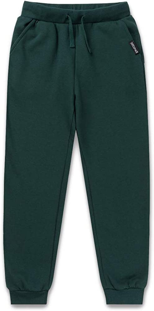 DEESPACE Kids Sweatpants Soft Brushed Fleece Sweatpants Youth Athletic Jogger Pants for Boys or Girls(3-12Years)