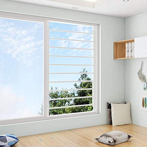 Guardias de la ventana infantil para niños, para niños de seguridad de la ventana de seguridad Barras de seguridad, ajuste 23.6-43.3 pulgadas de altura (color: W80cm, Tamaño: H80CM) (Color: W80CM, Tam