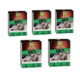 KB Home Defense - Lote de 5 raticidas de patas, 750 g, muy appeante Rapatt