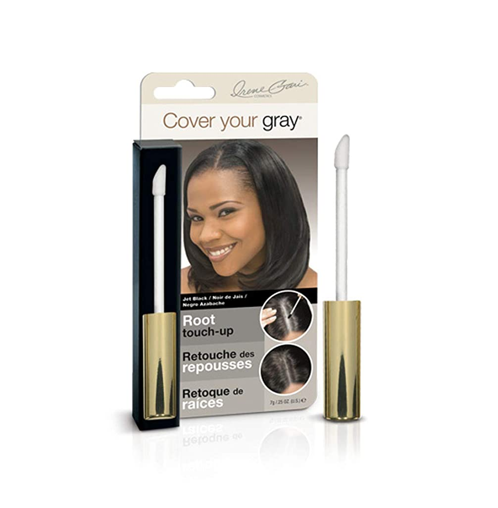 Cover Your Gray Root Touch-Up Jet Black (並行輸入品)