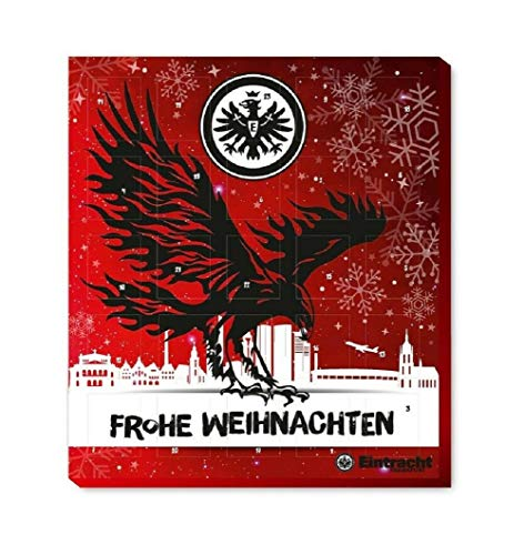 Fan-Shop Sweets Eintracht Frankfurt Premium Adventskalender 2020 (one Size, Multi)