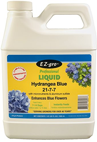 Hydrangea Fertilizers by E Z-GRO 21-7-7 with Added Aluminum Sulfate to...