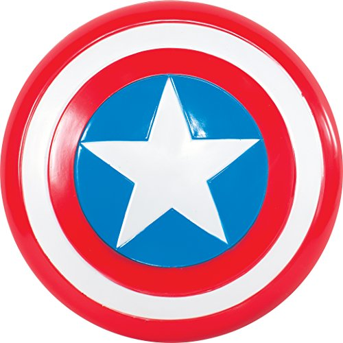 Rubie\'s 335640 - Captain America Schild, Action Dress Ups und Zubehör, One Size