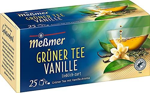 Meßmer Grüner Tee Vanille, 25 Teebeutel