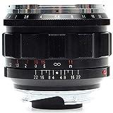 Voigtlander Nokton - Lente asférica VM Leica M (50 mm, f/1.2), color negro