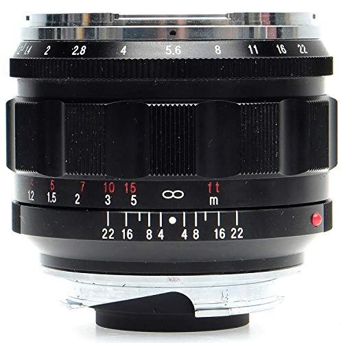 Voigtlander Nokton 50 mm f/1.2 asphärisches VM Leica M Objektiv, Schwarz