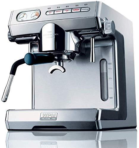 Jsmhh Voll Halbautomatische italienische Pump Kaffeemaschine for Konsum- und gewerbliche Nutzung, Kapazität 3L