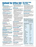 Microsoft Outlook 365 Mail, Calendar, People, Tasks, Notes Quick Reference - Windows Version (Cheat Sheet of Instructions, Tips & Shortcuts - Laminated Guide)