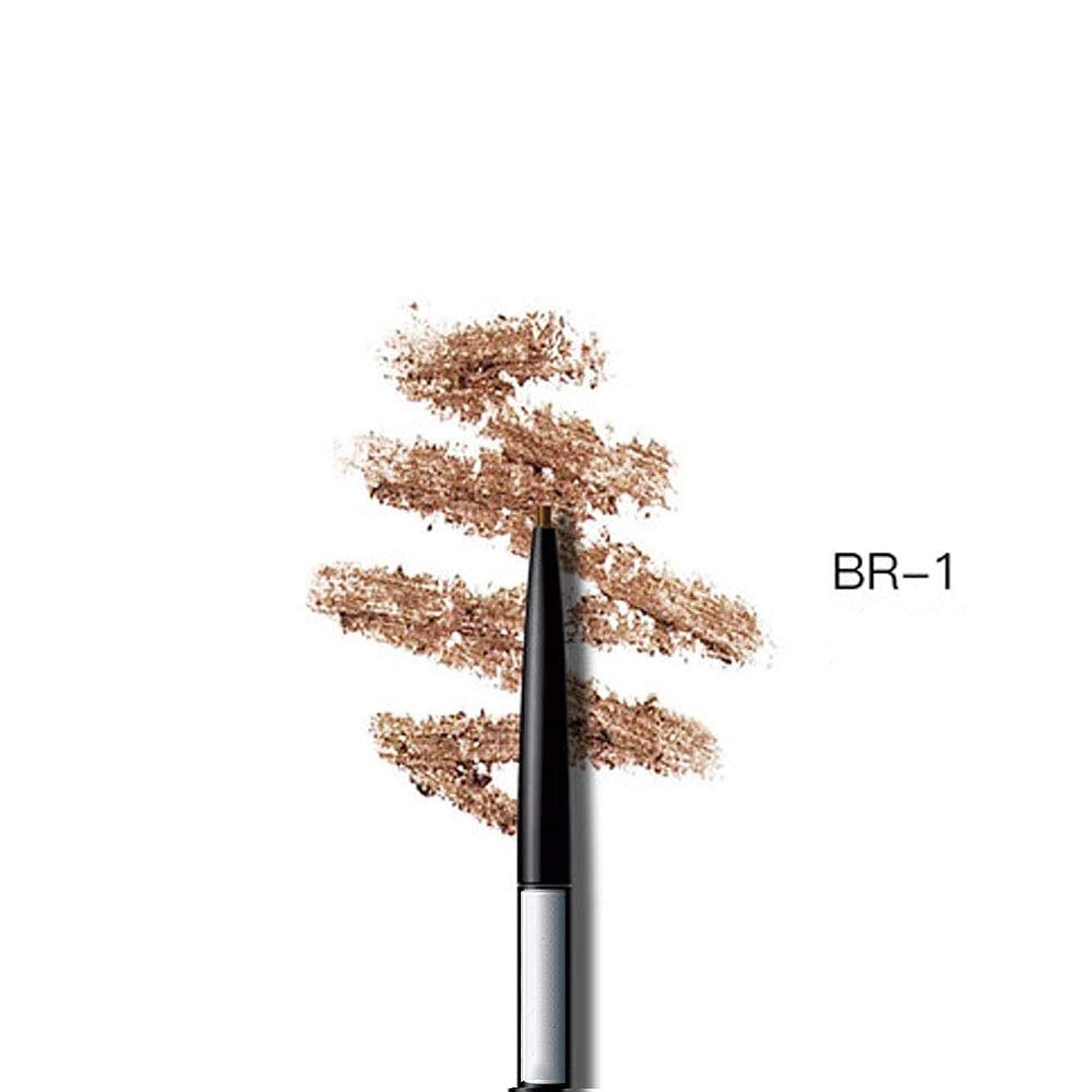 複雑でない脊椎騒ぎ眉ペンシル長持ち防水耐久性Automaricライナー眉7色を選択します (色 : Bright brown)