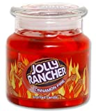 Jolly Rancher by Hanna's Candle 14.75-Ounce Jolly Rancher Cinnamon Fire Jar Candle