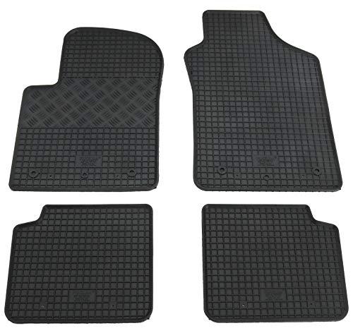 Gummimatten Gummi Fußmatten für Alfa Romeo Mito 2008-2018 Original Qualität