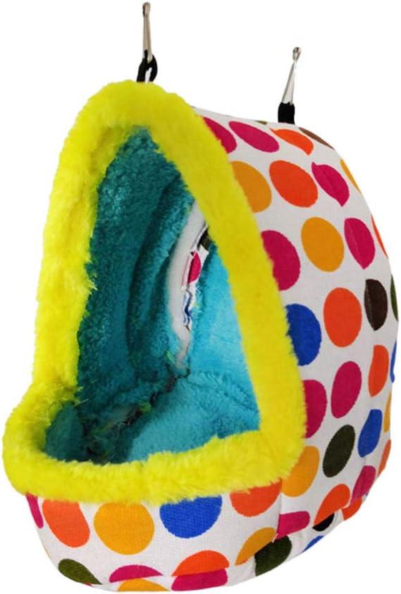 TEHAUX Nest- Bird Hanging Hammock Pet Max 83% OFF Bed Brand new Hut Cave Sleeping
