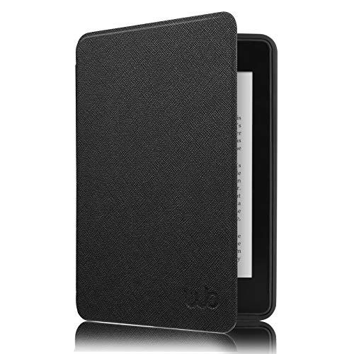 Capa Kindle Paperwhite à Prova D'água WB® - Ultra Leve Silicone Flexível Sensor Magnético Preta