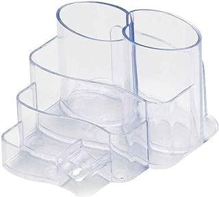 Porta Lápis/Clips/Papel Conjunto Triplo Injetado Cristal 3005H Dello
